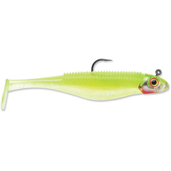 """Storm Storm 360GT Shad Search Bait. 3-1/2"""" Chart Ice"""