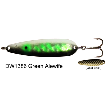 Dreamweaver DW Spoon. Green Alewife