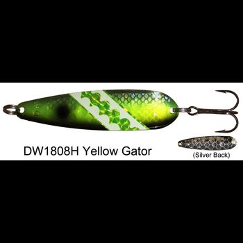 Dreamweaver DW Spoon. Yellow Gator
