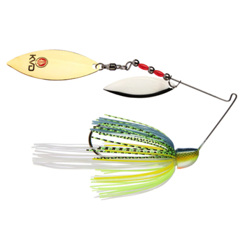 Strike King KVD Finesse 1/2oz Spinnerbait. Chartreuse Sexy Shad