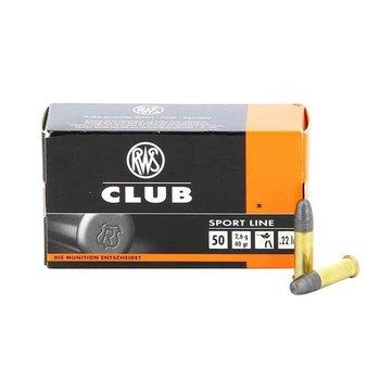 RWS RWS Club 22 LR Target Ammunition 40gr