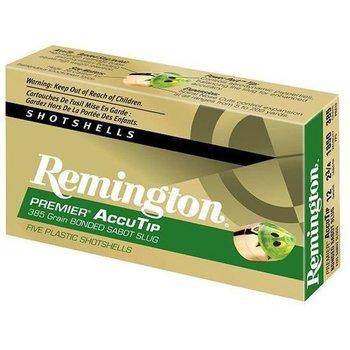 "Remington Remington Premier Ammo 12ga 2-3/4"" 385gr AccuTip Sabot Slug 5 Rounds"