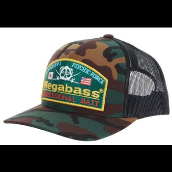 Megabass Psychic Trucker Hat Woodland Classic