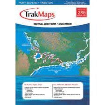 Trakmaps Trakmaps Chartbook Tent-Severn. Waterway Complete