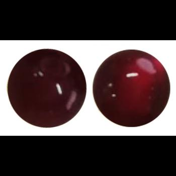 Woo Tungsten Flipping Beads. Red 15-pk
