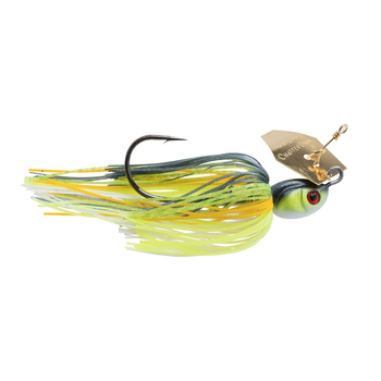 Z-Man Project Z ChatterBait. 3/4oz Chartreuse Sexy Shad