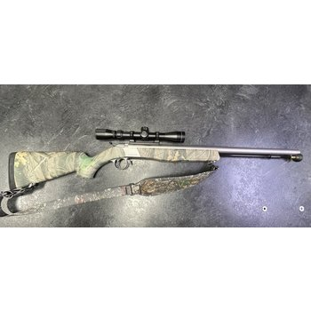 CVA Wolf .50 Cal Stainless Camo Muzzleloader w/3-9 Scope & Acc