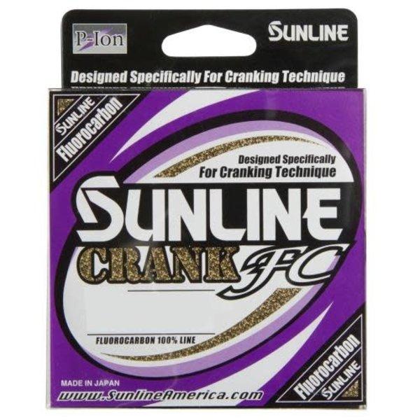 Sunline Crank FC 8lb Fluorocarbon 200yds