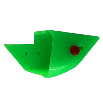 Rhys Davis Anchovy Special Glow Green. Unrigged 3-pk