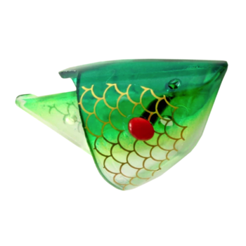 Rhys Davis Rigged Anchovy Special UV Clear Green Scale. 1-pk