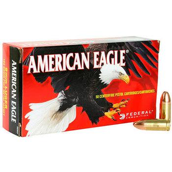 Federal American Eagle 9mm Luger 124Gr FMJ Ammunition