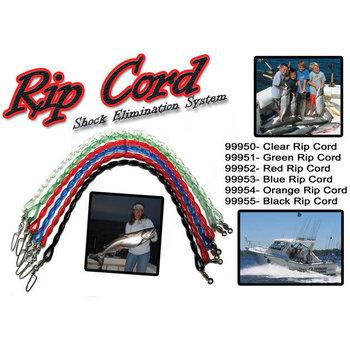 Dreamweaver Rip Cord. 12'' Orange Snubber