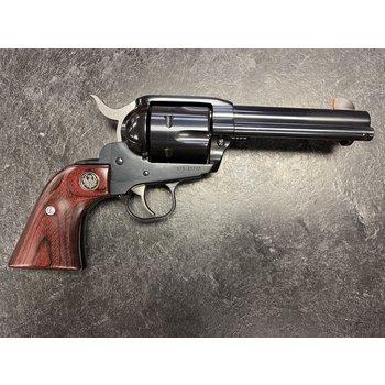 """Ruger New Vaquero 45 Colt 4.62"""" Blued Revolver"""