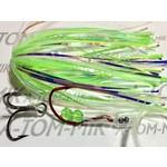 A-Tom-Mik Tournament Fly UV Green Glow T186