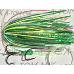 A-Tom-Mik A-TOM-MIK Tourament Rigged Fly With Owner Hook And Segar Line Green Hammer
