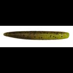"Jackall Yammyfish 3"" Chartreuse Green Pumpkin 7-pk"