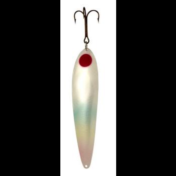 """Lucky Strike 6.5"""" Canoe Wobbler Pearl 1 Dot"""