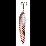 """Lucky Strike 6.5"""" Canoe Wobbler Hammered Nickel Copper"""