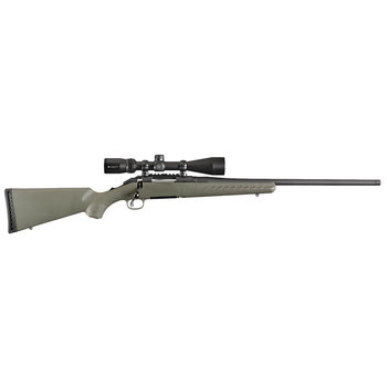 """Ruger 16953 American Bolt Action Rifle Combo, 6.5 Creedmoor, RH, 22"""" BBL, Moss Green Synthetic Stock, Vortex Scope 4-12x44 , 5-Round"""