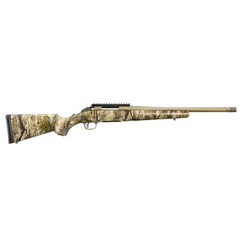 """Ruger 36924 American Bolt Action Rifle, 6.5 Creed, 16.1"""" Cerakote Bronze Bbl, Go Wild Camo Stock, 4+1 Rnd"""