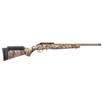 "Ruger 8373 American Rimfire Bolt Action Rifle, 22 WMR, 18"" Bbl, Bronze Cerakote Finish, Go Wild Stock, 9+1 Rnd"