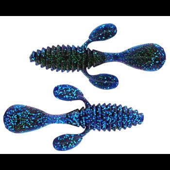 "Gambler 4"" Ugly Otter June Bug Shadow Blue 7-pk"