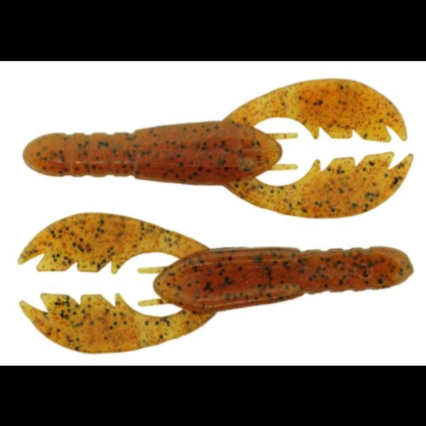 "Bass Assassin Pure Craw 4"" Crawfish 10-pk"