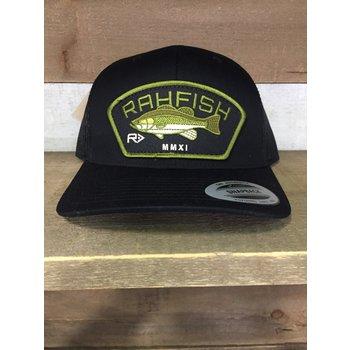 RahFish RahFish LGB  Trucker Cap, Black