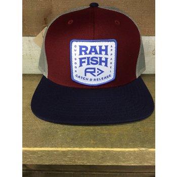 RahFish RahFish Flat Brim Bombora Mesh Grey