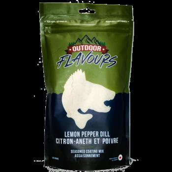 Outdoor Flavors Lemon Pepper Dill Seasoned Coating Mix 315g