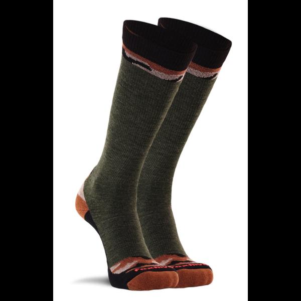 Fox River Woodlands Lightweight Mid-Calf Boot Sock Olive M (M6-8.5/W7-9.5)