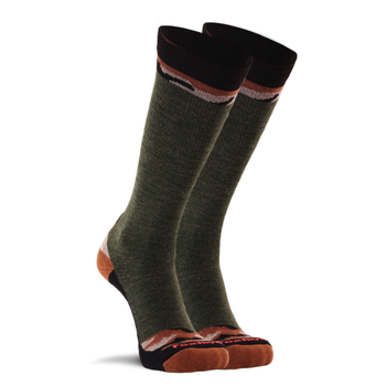 Fox River Woodlands Lightweight Mid-Calf Boot Sock Olive L (M8-11.5/W10-12.5)