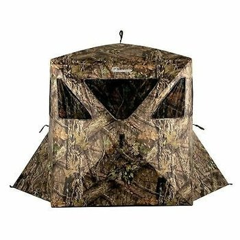 Ameristep Care Taker Kick-Out Hub Style Ground Blind. Break Up Country Mossy Oak