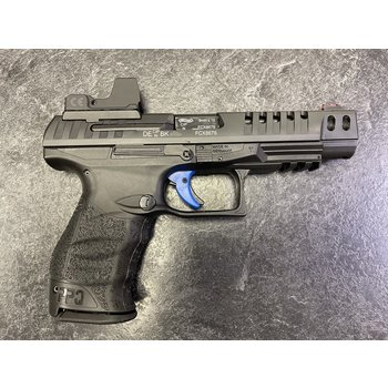 Walther Q5 Match 9mm w/UTG Red Dot & 3 Mags