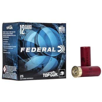 Federal Top Gun 12ga 2 3/4dr #7.5 1 1/8oz Target Loads /Box