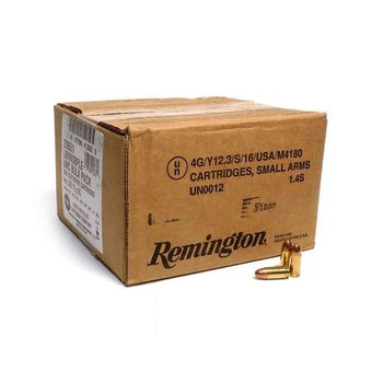 Remington UMC 9 mm Luger 115gr FMJ Handgun Ammo - 500 Rounds