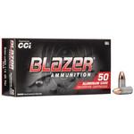 CCI Blazer 9mm Ammunition 115 Grains FMJ Box Of 50