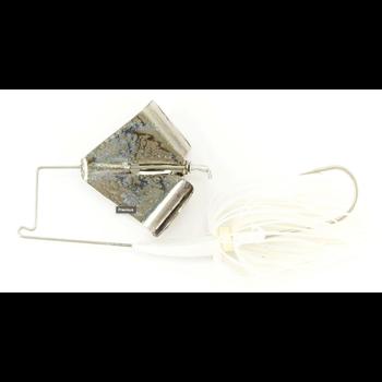Nichols Reflex Metal Flake Buzzbait 3/8oz Blue Shad Nickle Blue