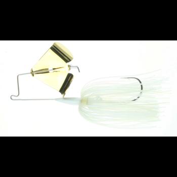 Nichols Reflex Metal Flake Buzzbait 3/8oz Blue Shad 24K Gold