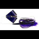 Nichols Reflex Metal Flake Buzzbait 3/8oz JT's Tital Bluefleck