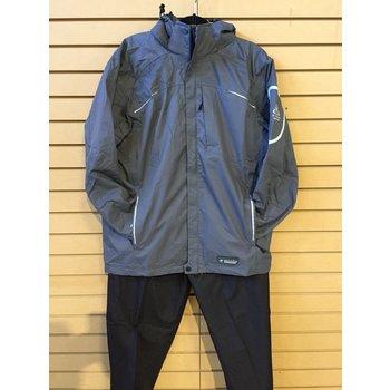 Wetskins Xtreme Series Men's Rainsuit, Grey, XXL