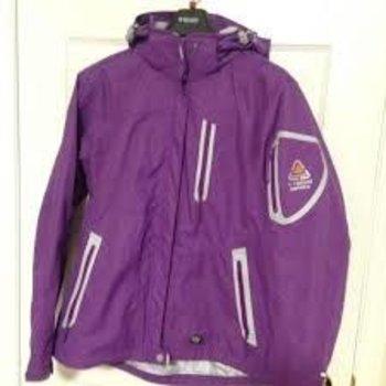 Wetskins Hydra Tech Series Women's Rainsuit, Purple, S
