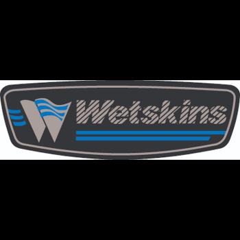 Wetskins Hydra Tech Series Women's Rainsuit, Blue, XL