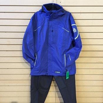Wetskins Xtreme Series Men's Rainsuit, Blue, XXL