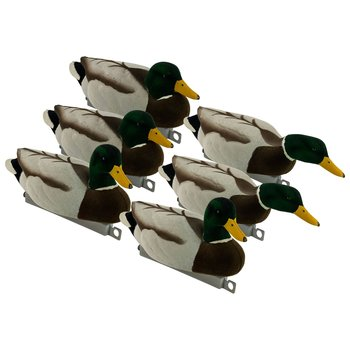 Tanglefree Migration Edition Magnum Fully Flocked Mallards, (2 Resters, 2 Uprights, 2 Skimmers)