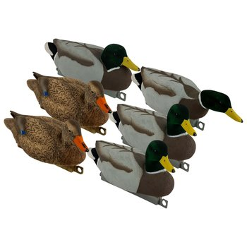 Tanglefree Migration Edition Mallard Combo Pack. Flocked Head & Tail 6 Pack
