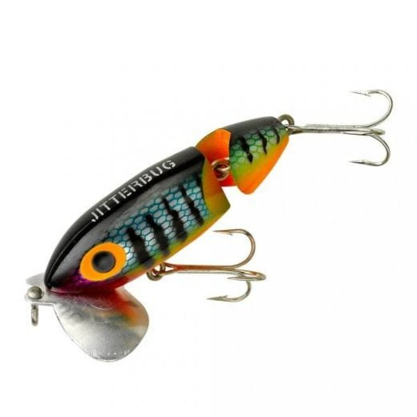 """Arbogast Jointed Jitterbug 2-1/2"""" Perch"""