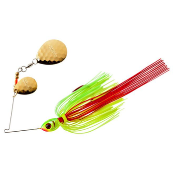 Booyah Tux N Tails 3/8oz Spinnerbait. Wounded Limetreuse