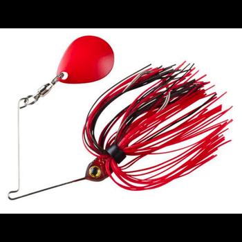 Booyah Micro Pond Magic 1/8oz Spinnerbait. Fire Ant
