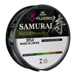 Daiwa J-Fluoro Samurai Hidden Concept 14lb 220yd (Green/Brown)